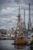 Harbourside庆祝 库存图片