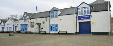 Harbourside buildings, Watchet Royalty Free Stock Photos