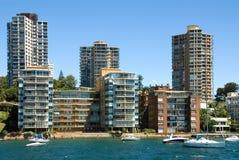Harbourside Leben Stockfotos