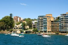 Harbourside Living Royalty Free Stock Image