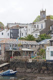 Harbourside living in Cornwall Royalty Free Stock Images