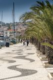 Harboursideweg Argostoli Kefalonia Stock Foto