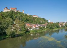 Harburg,romantic Route,Bavaria,Germany Stock Images
