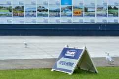 Harcourts real estate Open Home Royalty Free Stock Images