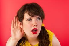 Hard слуха Стоковая Фотография