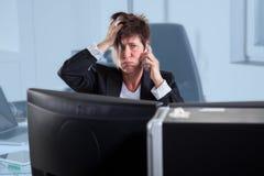 Hard Assistant job Stock Photography