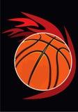 Hard basketball.eps Stock Photography
