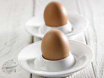 Hard boil egg Stock Photos