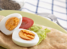 Hard boiled egg Royalty Free Stock Images