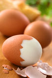 Hard Boiled Egg Royalty Free Stock Photo