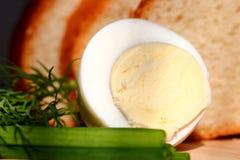 Hard boiled egg Stock Photos