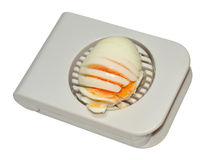 Hard Boiled Egg Cutter Royalty Free Stock Images