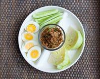 Hard boiled egg Stock Images