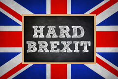Hard Brexit Royalty Free Stock Photo
