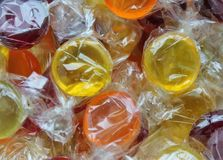 Hard candy boiled sweets Royalty Free Stock Photos