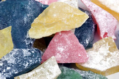 Hard Candy Closeup Stock Images