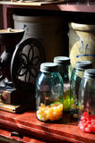 Hard Candy in Jars Stock Photo