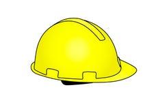 Hard cap yellow Royalty Free Stock Photo
