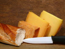 Hard-cheese Royalty Free Stock Photos