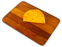 cheese on board Royalty Free Stock Image