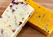 cheese choice Stock Photography