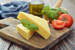 Hard cheese Stock Images