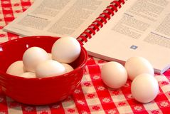 Hard Cooked Eggs royalty free stock photos