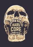 Hard Core Skull Stock Photography