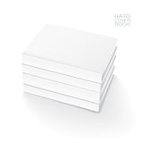 Hard Cover Book Template Stock Photo