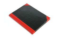 Hard Cover Note Book. On White Background Royalty Free Stock Photo
