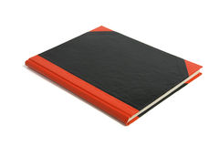 Hard Cover Note Book. On White Background Royalty Free Stock Photography