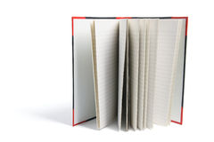 Hard Cover Note Book. On White Background Stock Images