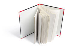 Hard Cover Note Book. On White Background Royalty Free Stock Image