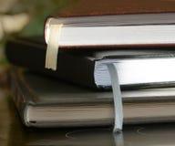 Hard cover notebooks Stock Photos