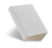 Hard cover white book Stock Photos