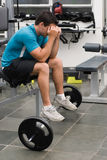 Hard Day At The Gym Royalty Free Stock Photo