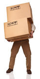 Hard delivery Royalty Free Stock Image