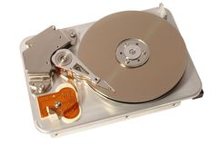 Hard disc Royalty Free Stock Photos