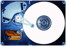 Hard disc Stock Image