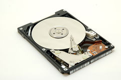 Hard disc. On white background Royalty Free Stock Images