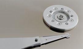 Hard disc detail Stock Photos