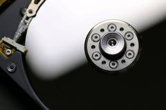 Hard disc drive repair macro Royalty Free Stock Image