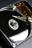 Hard disc drive repair macro Stock Images