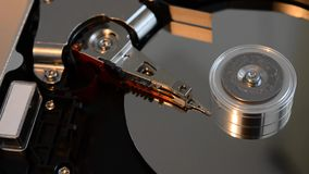 Hard disc failure Royalty Free Stock Photo