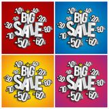 Hard Discount Big Sale Royalty Free Stock Images