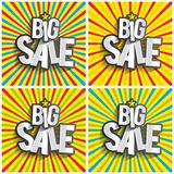 Hard Discount Big Sale Stock Images