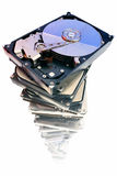 Hard discs Royalty Free Stock Photo