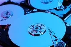 Hard discs Stock Photos