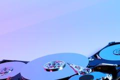 Hard discs Royalty Free Stock Photography