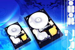 Hard disk Stock Images
